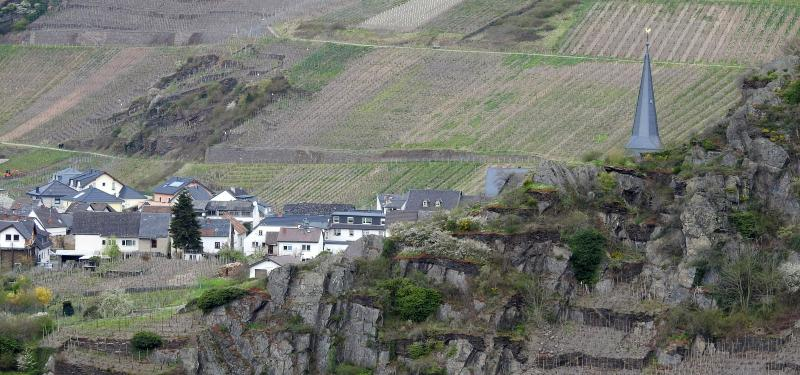 Mayschoß coming into view