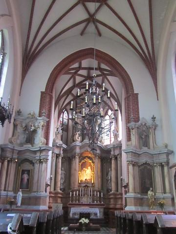 Inside St Anne's