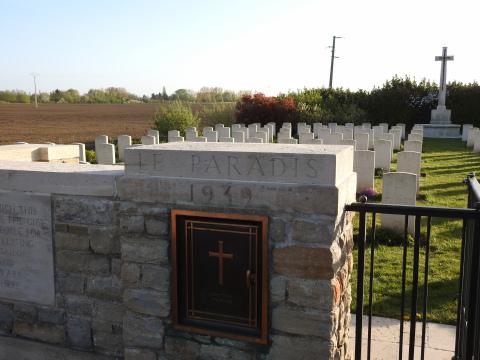 Le Paradis War Cemetery