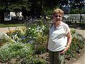 In the Elisenbrunnen gardens