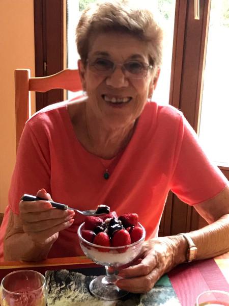 Strawberries and chocolate bingsu