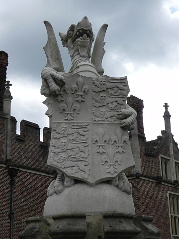 Henry VIII coat of Arms at Hampton Court