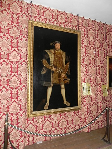 Henry VIII painting after Hans Holbein