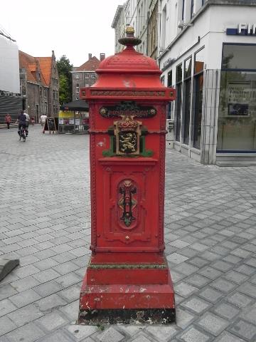 Post box in Gent