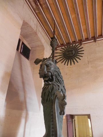 The weather vane from Arras beffroi
