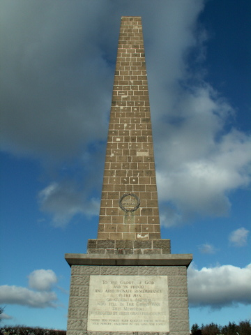 The Knockagh Monument