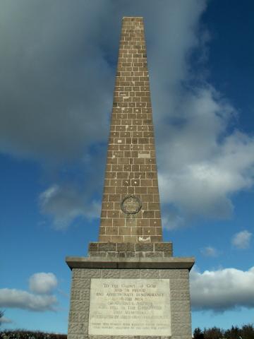 The Knockagh Monument