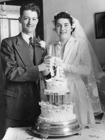 Sixty years later she still can't a cake straight
